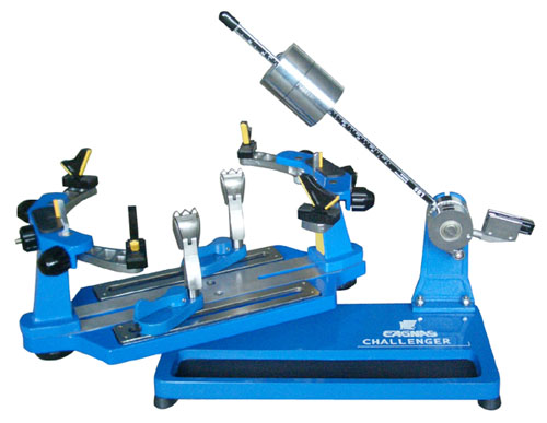 Eagnas Portable Stringing Machine - Challenger II Blue